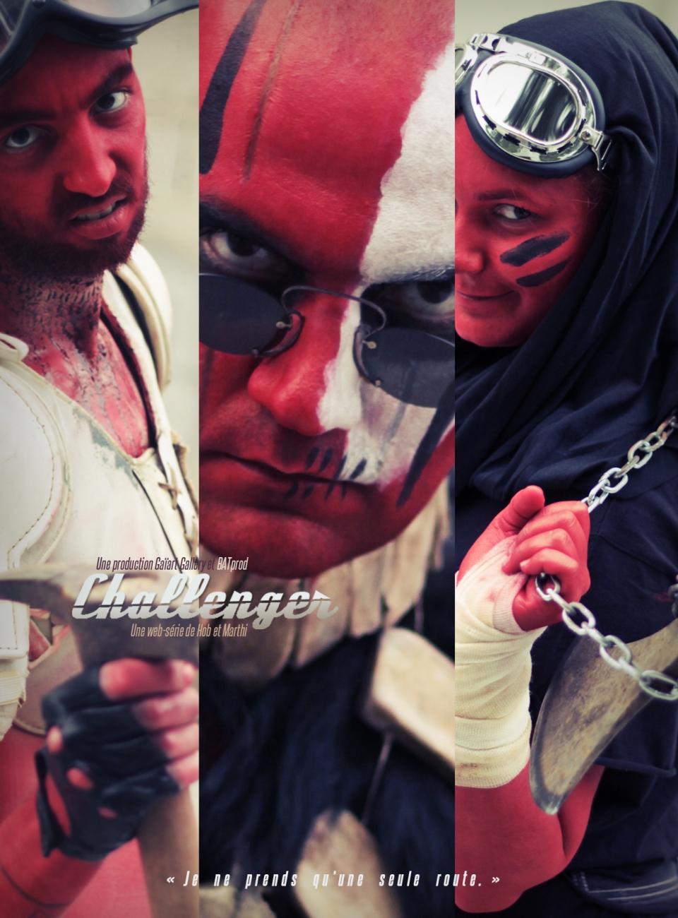 Challenger teaser Rouges 1